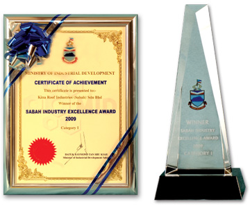 Sabah Industry Excellence Award 2009