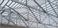 Pre-engineered Steel Trusses