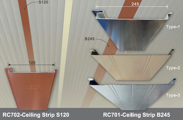 Rofo® Ceiling Strip